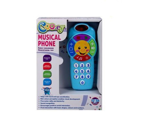 Baby Battery Operated Musical Phone