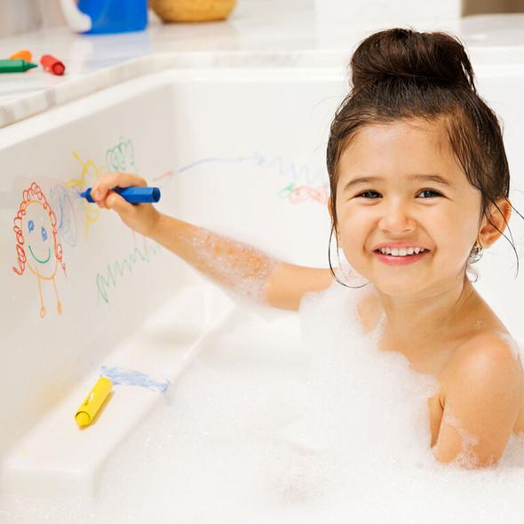 6-Piece Baby Bath Buddies Crayons