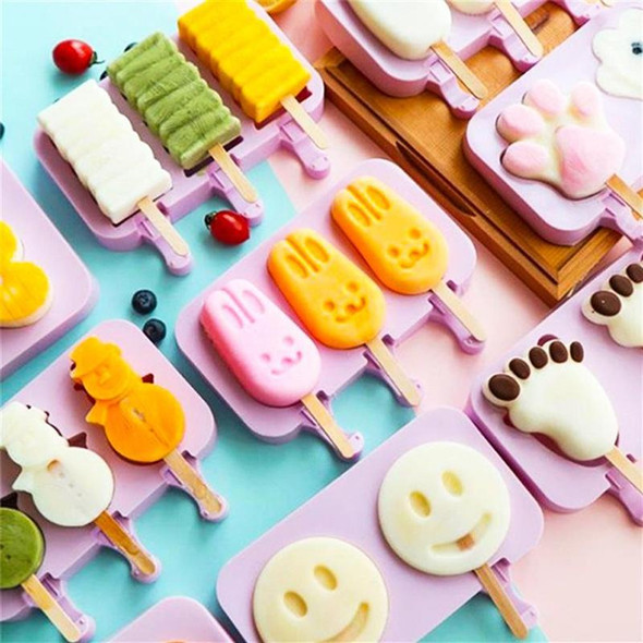 Multi-Functional Silicone Popsicle Molds