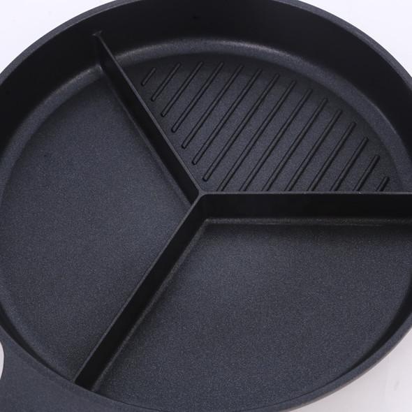 Triple Sharing Non Stick Pan