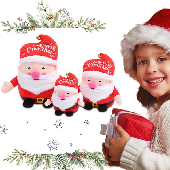 Santa Claus & Reindeer Plush Toys