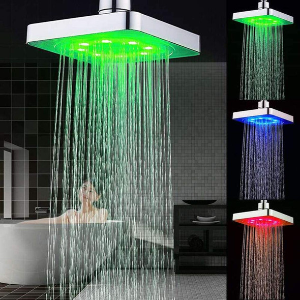 LED Colour Changing Shower Head