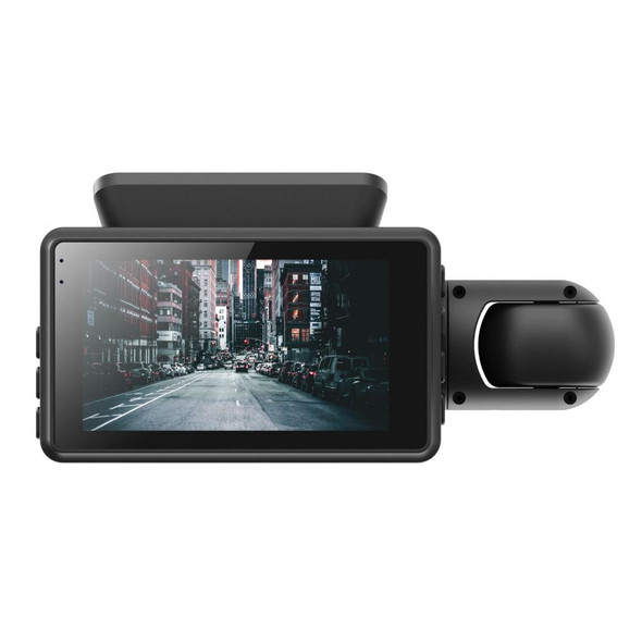 Dual Lens HD Car DVR 3 Inch Dash Camera
