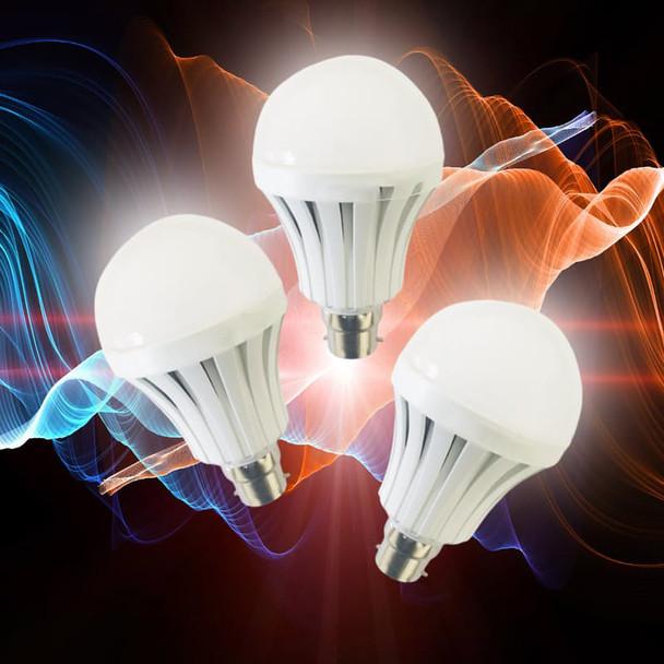 Set of 2 Smart Rechargeable Light Bulbs