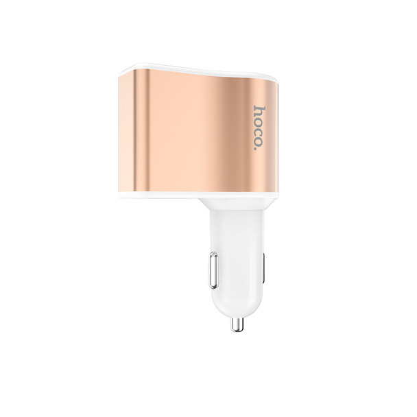 Hoco Z10 Cigarette Lighter Car Charger with Digital Display