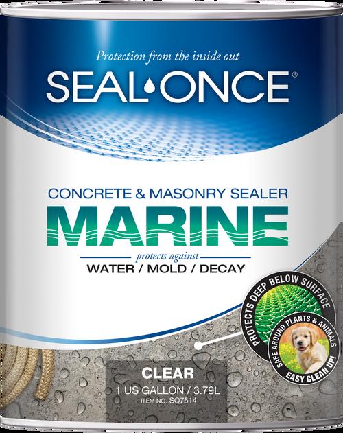 Seal-Once Marine Concrete & Masonry Sealer