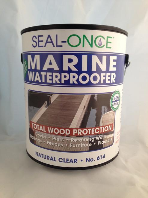 Seal-Once Marine Waterproofer Total Wood Protection