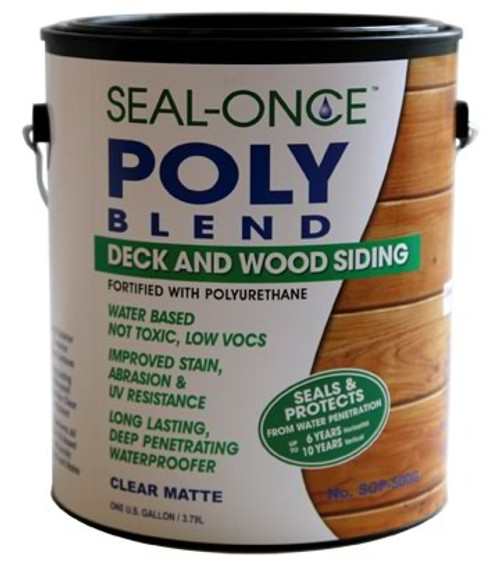 Seal-Once Poly Blend Deck and Wood Siding