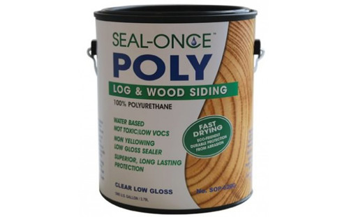 Seal-Once Log and Wood Siding 100% Polyurethane