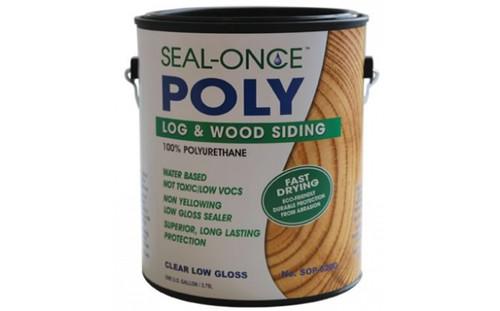 Seal-Once Log and Wood Siding 100% Polyurethane