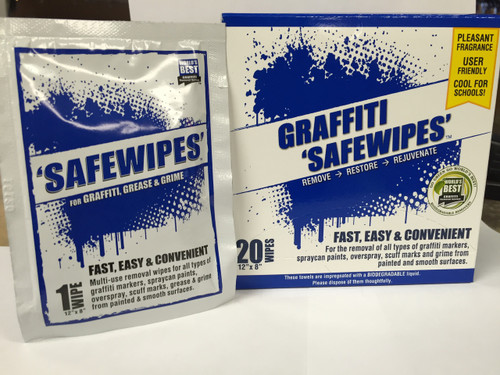 GRAFFITI SAFEWIPES