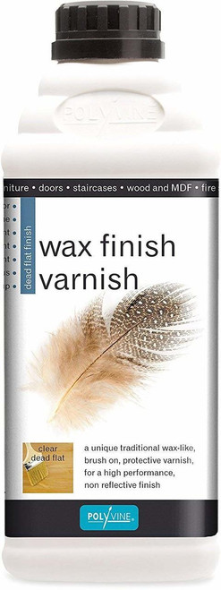 Polyvine Wax Finish Varnish - Quart
