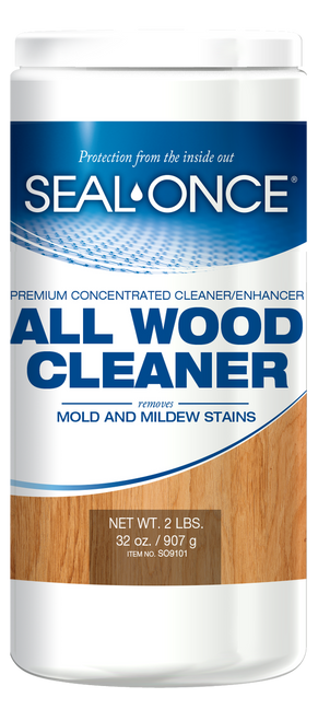 Seal-Once All Wood Cleaner Front