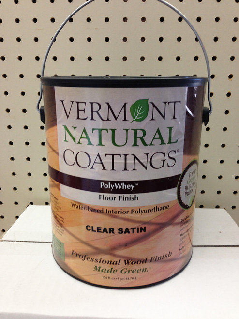 Vermont Natural Coatings Natural Floor Finish - Clear Satin Gallon