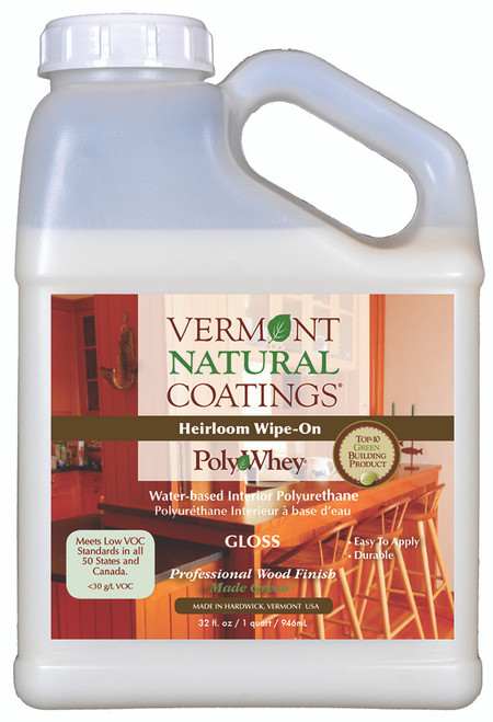 Vermont Natural Coatings Heirloom Wipe-On PolyWhey Quart