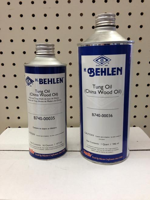 Behlen Tung Oil Quart B740-00036