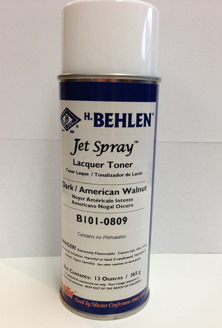 Behlen Brothers Jet Spray Lacquer Toners