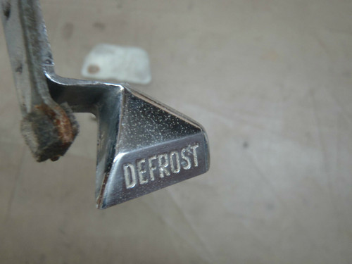 1956 Cadillac Dash Defrost Control Lever Knob Switch Gauges Used Original