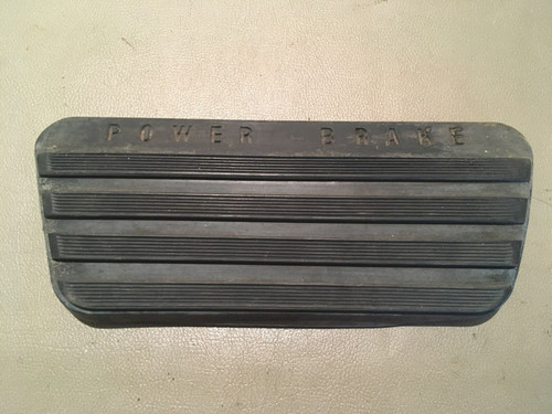 1957 1958 Cadillac Rubber Brake Pedal Pad Used OEM Original Coupe Sedan 62 Eldo
