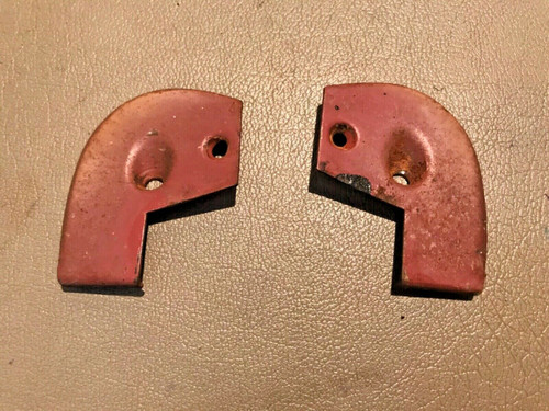 1957 1958 Cadillac Door Panel End Caps DS PS Used Original Sedan Only RH LH