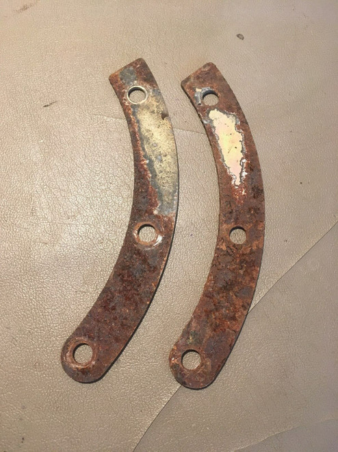 1961 Cadillac Front Bumper Mounting Brackets Supports 1962 Used Original Deville