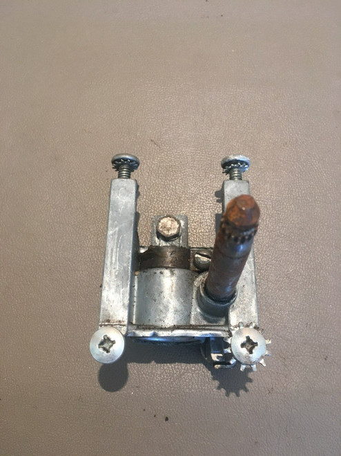 1955 1956 Cadillac DS LH Vent Window Regulator Crank Gear Wing Used Original