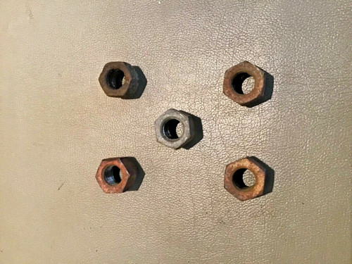 1949 1950 1951 1952 1953 1954 1955 1956 1957 1958 1959 1960 1961 1962 1963 1964 Cadillac Lug Nuts PS RH Regular thread set of 5