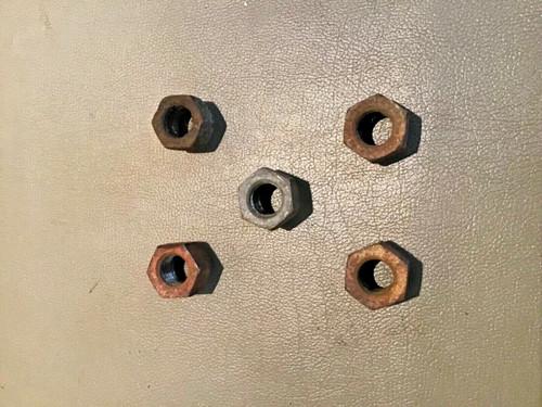 1949 1950 1951 1952 1953 1954 1955 1956 1957 1958 1959 1960 1961 1962 1963 1964 Cadillac Lug Nuts PS RH Regular thread set of 5