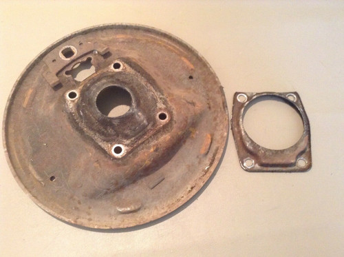 1955 1956 Cadillac DS LH Front Brake Backing Plate Used Original