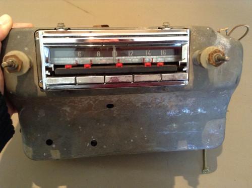 1954 Cadillac AM Radio 7264165 DeVille 60 62 Sedan Eldorado Parts Core