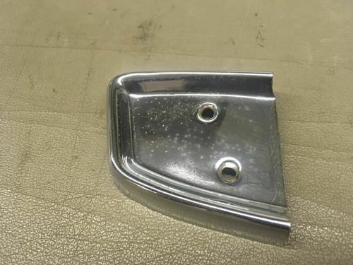 1958 Cadillac Series 62 DS / LH Door Panel Arm Rest Chrome End Cap