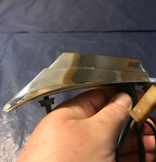 1963 Cadillac RH PS Fender Turn Signal Monitor Light Complete Working Original