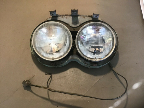 1958 Cadillac Headlight Bucket Assembly LH DS Used Original