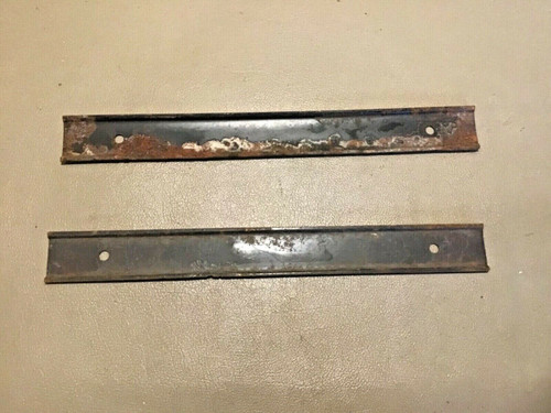 1957 1958 Cadillac Firewall Carpet Retainer Holder Brackets used original