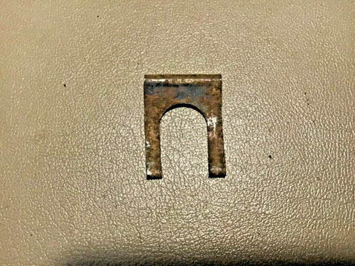1957 1958 Cadillac Trunk Lid Lock Cylinder Retainer Clip Rod Shaft Used Original