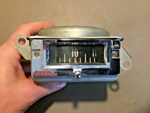1957 1958 Cadillac Eldorado Brougham Dash Drum Clock Used Original
