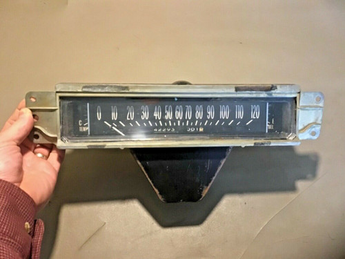 1962 Cadillac Gauge Cluster Speedometer Fuel Temp working used original 1961