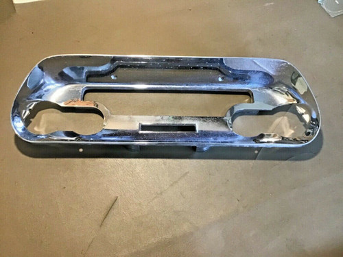 1957 1958 Cadillac Gauge Cluster Chrome Dash Bezel Used Original