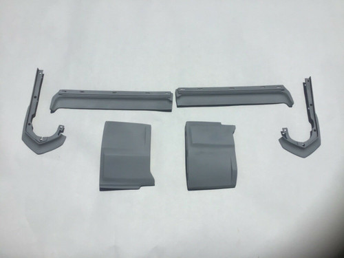 1973 1974 Cadillac Eldorado Front Fillers Extensions 6 piece set New