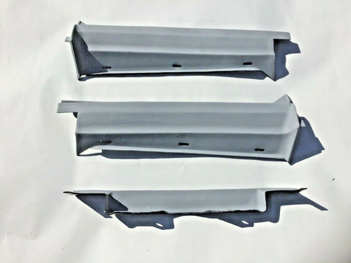1977 1978 1979 Cadillac DeVille Fleetwood Rear Trunk Bumper Fillers Extensions