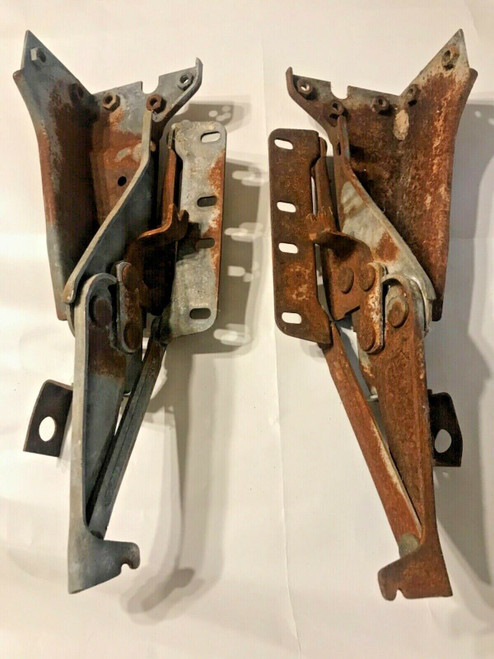 1958 Cadillac Hood Hinges Used Original Fleetwood Series 62 DeVille