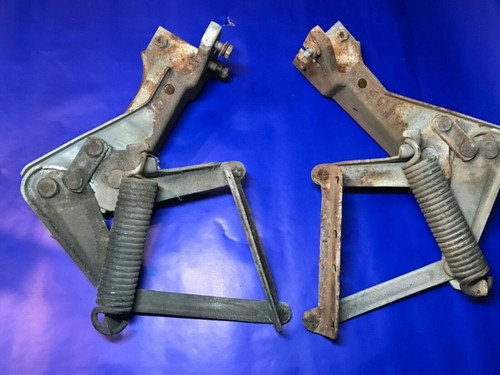 1958 Cadillac Hood Hinges with Springs Used Original Fleetwood Series 62 DeVille