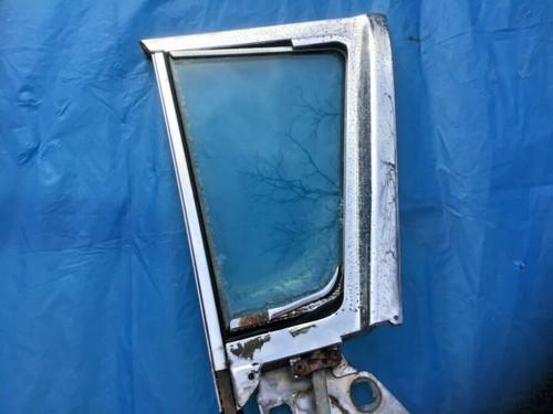 1957 1958 Cadillac Sedan PS RH Front Vent Window Frame 4 Door Used Original