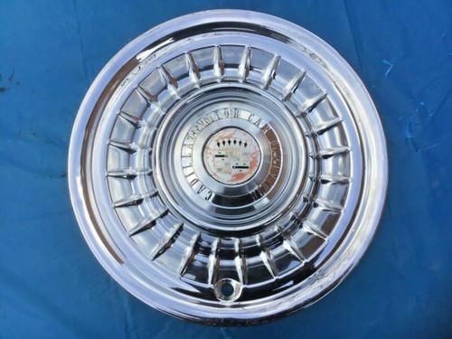 1958 Cadillac Hubcap Used Original Wheel Cover Hub Cap 1959 #3