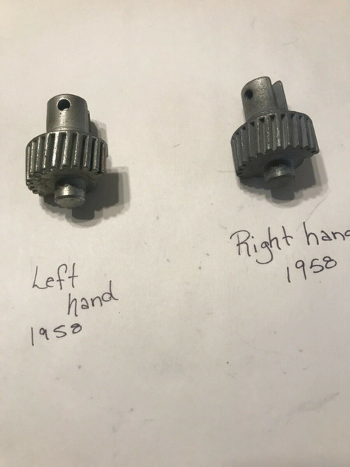 1958 Cadillac PS DS / LH RH Power Vent Window Gear Brand New Steel Replacement
