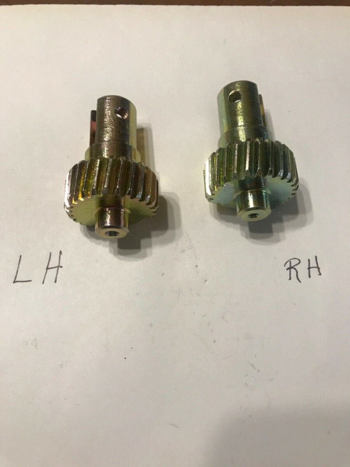 1959 1964 Cadillac PS DS LH RH Power Vent Window Gear Pair New 60 61 62 63