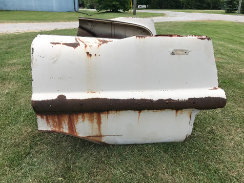 1957 Cadillac Couch project, decent start to a cool couch for someone, not too rusty but it does have some rust. Comes as shown