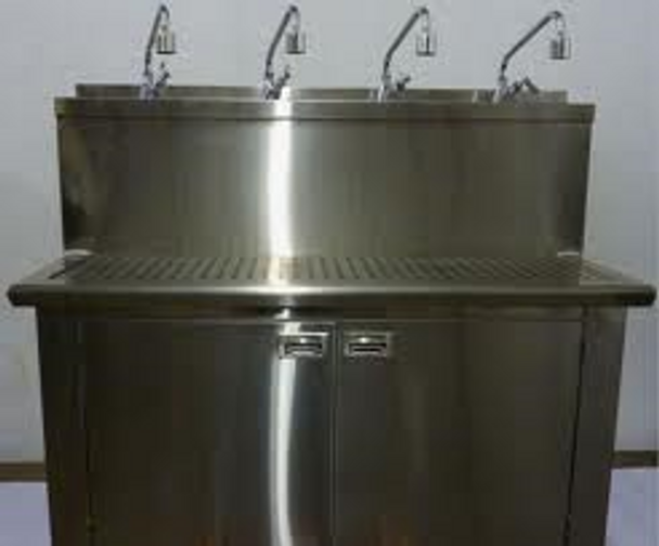 ROS/ICP-FT4 ICP (Intelligent Control Processor Options) SS Fill Table With  4 Faucets & Rinse Board 6 FT