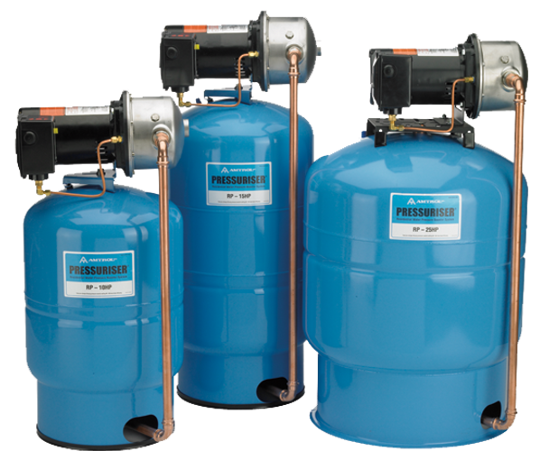 RP-15HP Amtrol Water Pressure Booster Systems 20 Gallons Tank