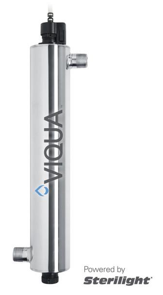 "Viqua Sterilight VH410 Home UV System 18 GPM 1"" MNPT"